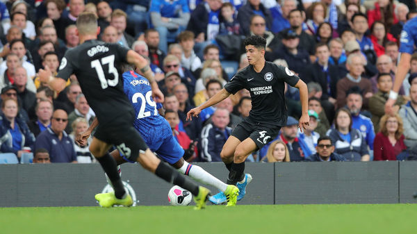 Match action during the Premier League match between Chelsea and Brighton and Hove Albion at Stamford Bridge on the 28th September 2019