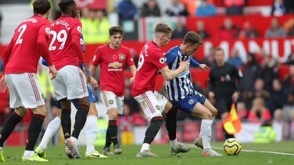 Manchester United v Brighton and Hove Albion Premier League 10NOV19