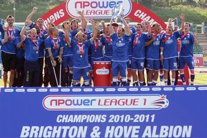 The 2010-11 League 1 Champions