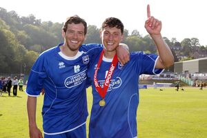Tommy Elphick and Gordon Greer