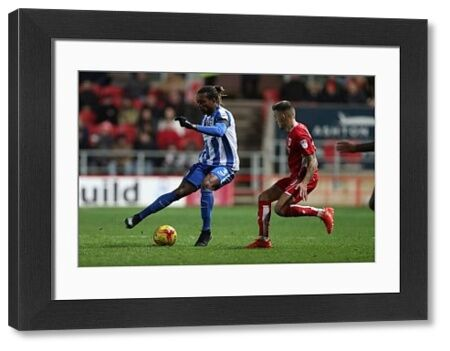 Match action during the EFL Sky Bet Championship game between Brighton and Hove Albion and Norwich City at Ashton Gate Stadium,Bristol on the 5th November 2016