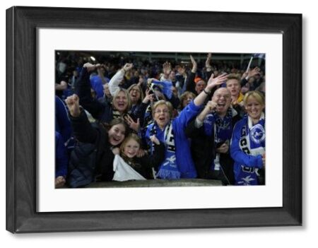Match action during the Premier League match between Brighton and Hove Albion and Manchester United at the American Express Community Stadium, Brighton on the 4th May 2018