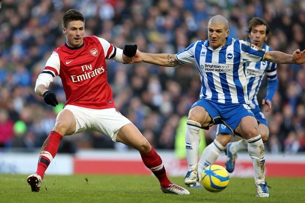 Brighton And Hove Albion Past Seasons: Season 2012-13: 2012-13 Home Games: Arsenal