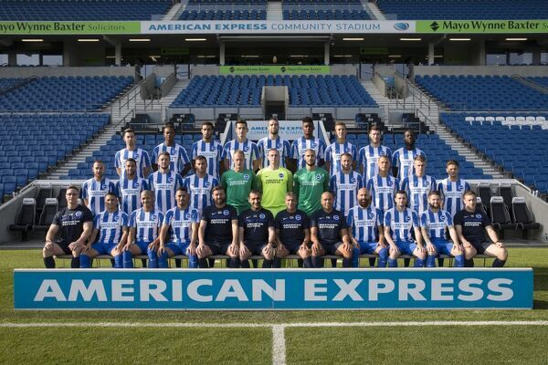 Brighton & Hove Albion, Official Team Photo 2016_17, photocall, team photograph, first team photo, 16_17