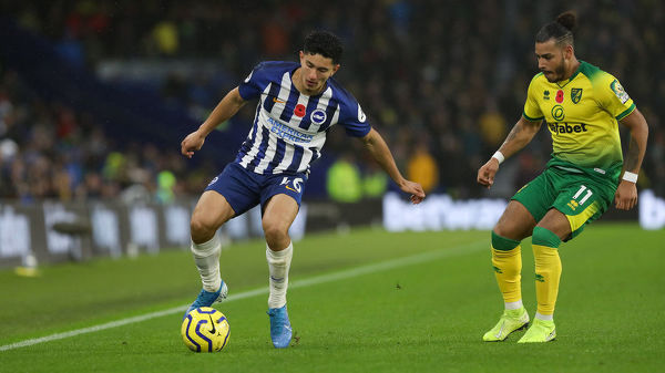 Brighton and Hove Albion v Norwich City Premier League 02NOV19