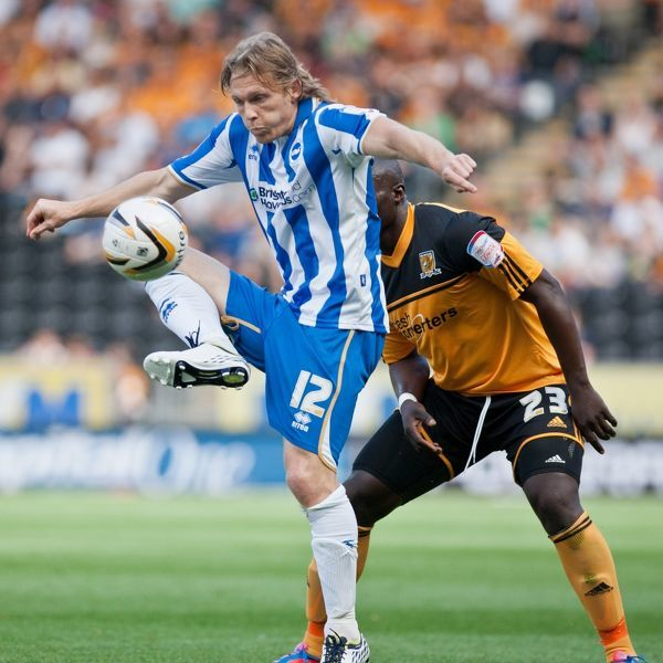 Craig Mackail-Smith Hull City Brighton HA 120818
