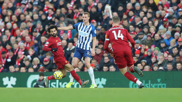 Liverpool v Brighton and Hove Albion Premier League 30NOV19