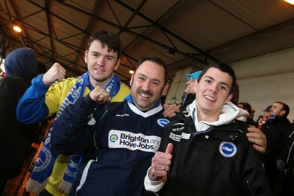 Brighton And Hove Albion Season 2013-14: 2013-14 Away Games: Port Vale - (FAC)