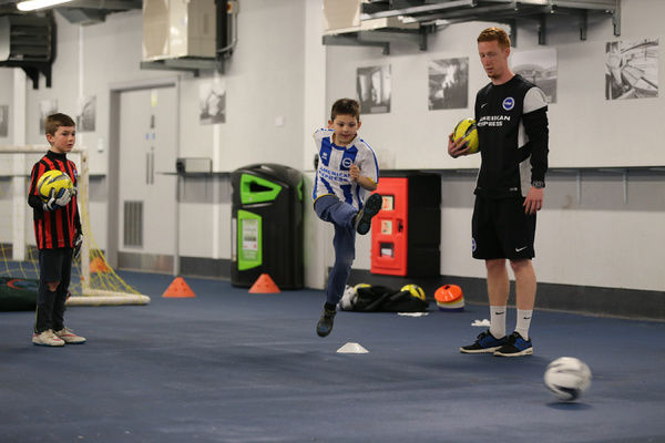 Brighton And Hove Albion Young Seagulls: Seagulls Priority Open Training Day 08APR15