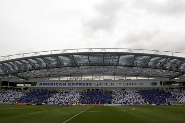 Brighton And Hove Albion Past Seasons: Season 2011-12: 2011-12 Home Games: Spurs and Doncaster galleries
