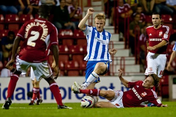 Brighton And Hove Albion Past Seasons: Season 2012-13: 2012-13 Away Games: Swindon Town - (cup)
