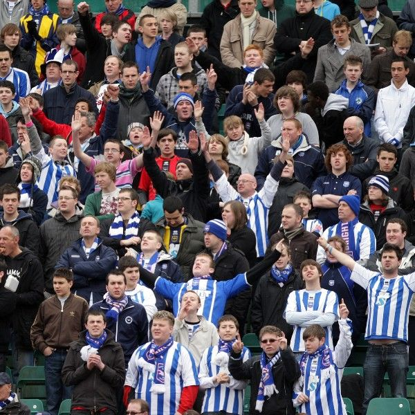 Brighton And Hove Albion Past Seasons: Season 2009-10: Season 2009-10 Home games: Swindon Town gallery