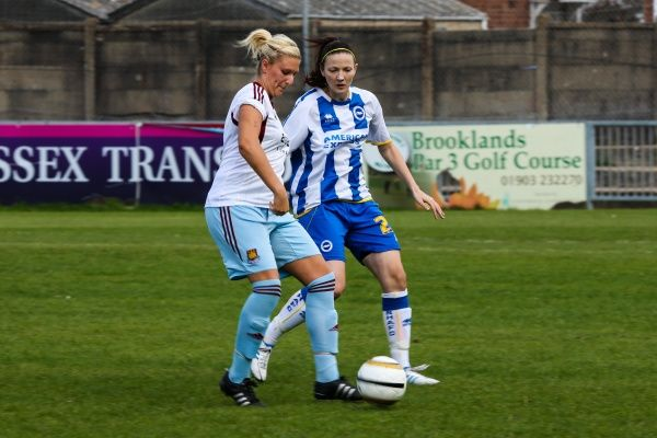 Brighton And Hove Albion Season 2013-14: Women's Matches: West Ham