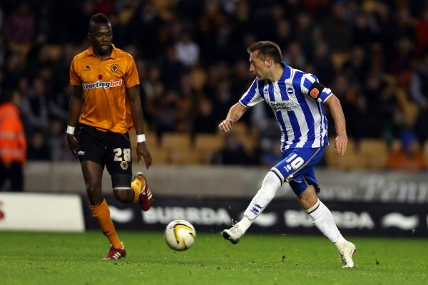 Wolves - 10-11-2012. Brighton And Hove Albion Past Seasons