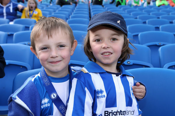 Brighton And Hove Albion Young Seagulls: Young Seagulls Open Day (Easter 2014)