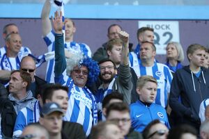 Aston Villa v Brighton and Hove Albion EFL Sky Bet Championship 07MAY17