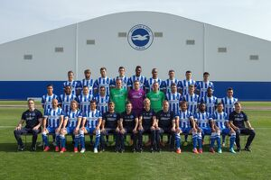 Brighton & Hove Albion Official Team Photo 2014_15 Season