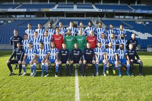 Brighton & Hove Albion Official Team Photo 2015_16 Season