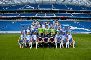 Brighton & Hove Albion Official Team Photo 2012-13