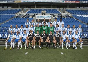 official brighton hove albion team photograph