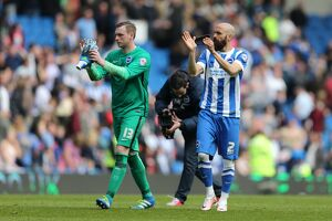 Brighton and Hove Albion v Burnley Sky Bet Championship 08/03/2016