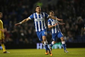 Brighton and Hove Albion v Leeds United Sky Bet Championship 29/02/2016