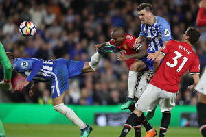 Brighton and Hove Albion v Manchester United Premier League 04MAY18