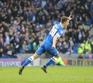 Brighton and Hove Albion v Milton Keynes Dons Sky Bet Championship 07/11/2015