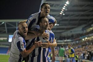 Brighton and Hove Albion v Nottingham Forest EFL Sky Bet Championship 12AUG16