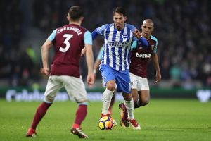 Brighton and Hove Albion v West Ham United Premier League 03FEB18
