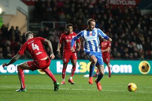 Bristol City v Brighton and Hove Albion EFL Sky Bet Championship 05NOV16