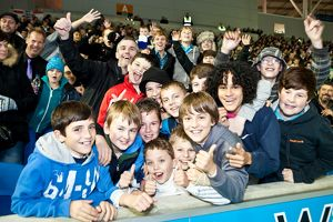 Crowd Shots at the Amex 2011-12