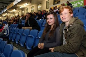 Crowd shots at the Amex - 2013-14