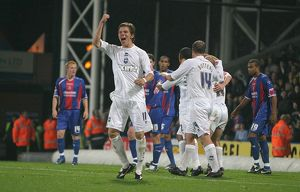 Dean Hammond celebrates Paul McShane's goal