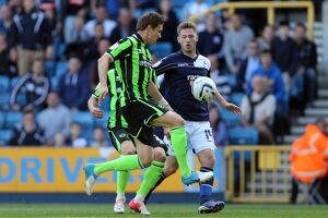Dean Hammond during Millwall v Brighton & Hove Albion, Npower Championship