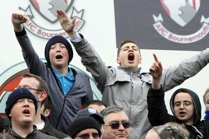 Fans at AFC Bournemouth January 2011