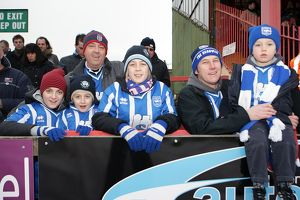 Fans at Exeter City, January 2011
