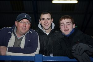 Fans at the FCUM F.A Cup Replay - December 2010