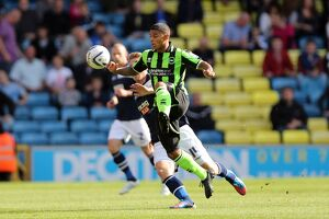Liam Bridcutt during Millwall v Brighton & Hove Albion, Npower Championship