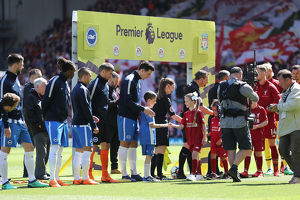 Liverpool v Brighton and Hove Albion Premier League 13MAY18