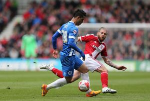 Middlesbrough v Brighton and Hove Albion
