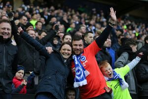 Milton Keynes Dons v Brighton and Hove Albion Sky Bet Championship 19/03/2016