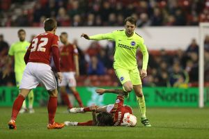Nottingham Forest v Brighton and Hove Albion Sky Bet Championship 11/04/2016