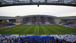 The first league game at the Amex