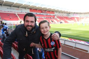 Rotherham United v Brighton and Hove Albion