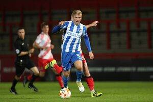 Stevenage v U23 Brighton and Hove Albion EFL Trophy 04OCT16