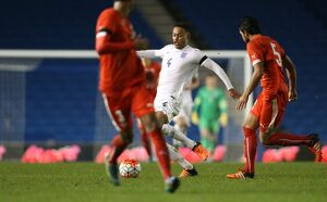 U21 England v Switzerland UEFA European Championship Under 21 2016 Qualifier 16/11/2015