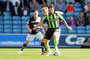 Wayne Bridge during Millwall v Brighton & Hove Albion, Npower Championship