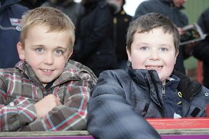 Young fans at Exeter City, January 2011